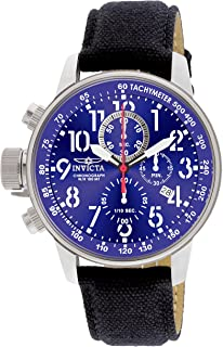 Invicta 1513 Watch Men's I Force Collection Stainless Steel and Cloth