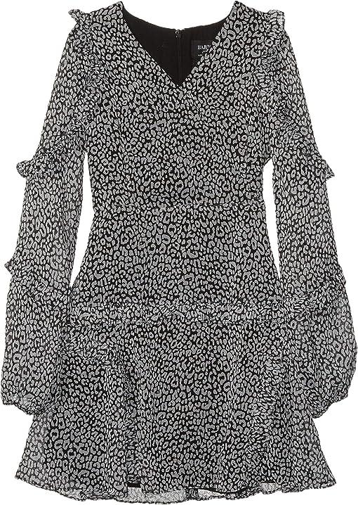 Mini Black/White Leopard
