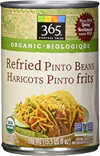 365 Everyday Value Organic Refried Pinto Beans, 13.5 oz