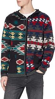 Joe Browns Men's Mix It Up Knit Hoody Cardigan Sweater