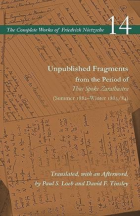 Unpublished Fragments