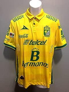 Leon FC Playera de Visita Amarilla Pirma 2015 Pumas America Chivas