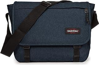 Eastpak Delegate + Borsa Messenger, 39 Cm, 20 L, Blu (Triple Denim)