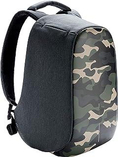 XD Design Bobby Compact Print Mochila Antirrobo Camouflage Verde (Bolsa USB)