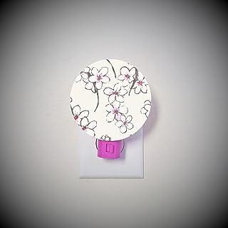Cherry Blossom night light- ivory / pink