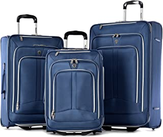 Olympia Hamburg Luggage Set, Navy, One Size