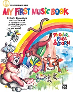 My First Music Book (to Color and Play)