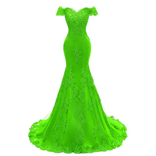 Lime Green Evening Gown: Amazon.com