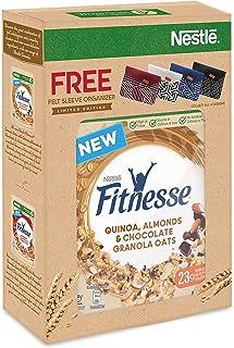 NESTLÉ FITNESSE GRANOLA Quinoa, Almonds & Chocolate (300g) + FREE Felt Sleeve Organizer