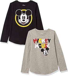 Amazon Essentials Disney Star Wars Marvel Princess Long-Sleeve T-Shirts Fashion-t-Shirts Niñas