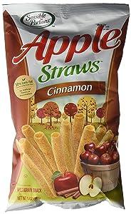 Sensible Portions Apple Straws, Cinnamon, 5 oz.