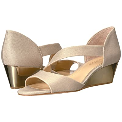 Imagine Vince Camuto Jefre (Soft Gold Metallic Shimmer Fabric) Women