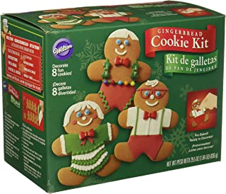 Wilton Gingerbread Boy Cookie Decorating Kit