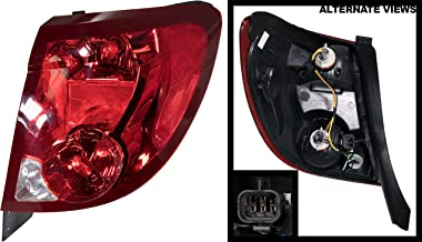 APDTY 2722370 Tail Light Assembly Fits Passenger Side Right 2003-2007 Saturn Ion (Coupe 2 & 3 Series; Replaces 22723023)