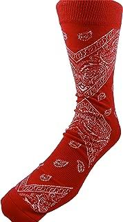 LEAF REPUBLIC New! Bandana Crew Socks - Multiple Colors Available