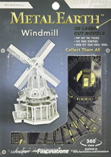 Metal Earth Windmill Zilver Ed