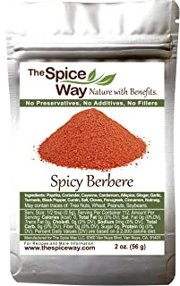 The Spice Way Spicy Berbere - A Hot Ethiopian Berbere Blend 2 oz …