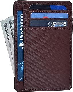 Clifton Heritage Leather Wallets for Men & Women – RFID Blocking Slim Design Front Pocket Minimalist Wallet