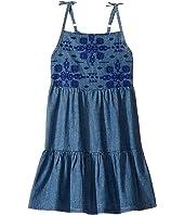 Lucky Brand Kids - Denim Embossed Dress (Little Kids)
