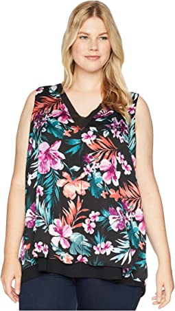 Plus Size Ulani Layer Tank Top