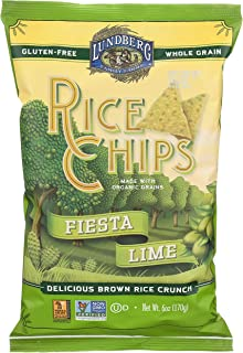 Lundberg Rice Chips, Fiesta Lime, 6 oz