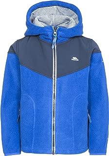 Trespass Bieber Boys Warm Full Zip Soft Fleece Hoodie Casual Lined Kids Jumper