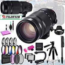 Fujifilm XF 100-400mm f/4.5-5.6 R LM OIS WR Lens Beginner Bundle with 13 Professional Filter Sets & 12 Piece Accessories