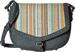 American West - Boho Rainbow Flap Crossbody