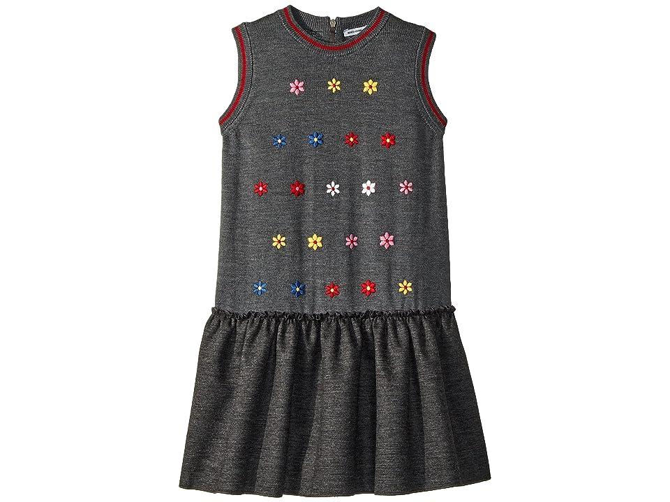 Dolce & Gabbana Kids Knit Dress (Toddler/Little Kids) (Grey Melange) Girl