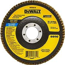 DEWALT Disco Flap Fibra de 4.1/2 Pol. x 7/8 Pol. (114mm x 22mm) Z 60 DW8308AR