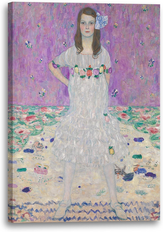 Printed Paintings Leinwand (70x100cm)  Gustav Klimt - Mäda Primavesi Primavesi Primavesi (1912-1913) B0728MZNJQ 0e80f1