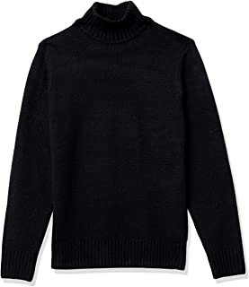 Men's Long-Sleeve Soft Touch Turtleneck Sweater