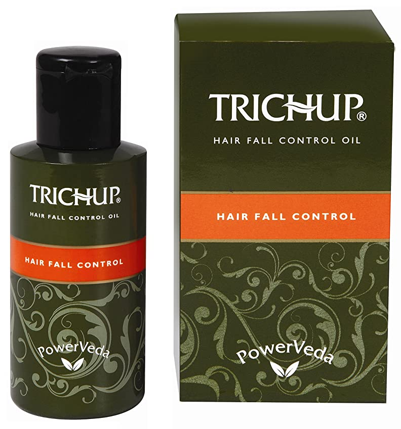 TRICHUP Hair Fall Control Oil Repair Damaged Hair And Arrests The Hair Fall 100 Milliliters by Trichup