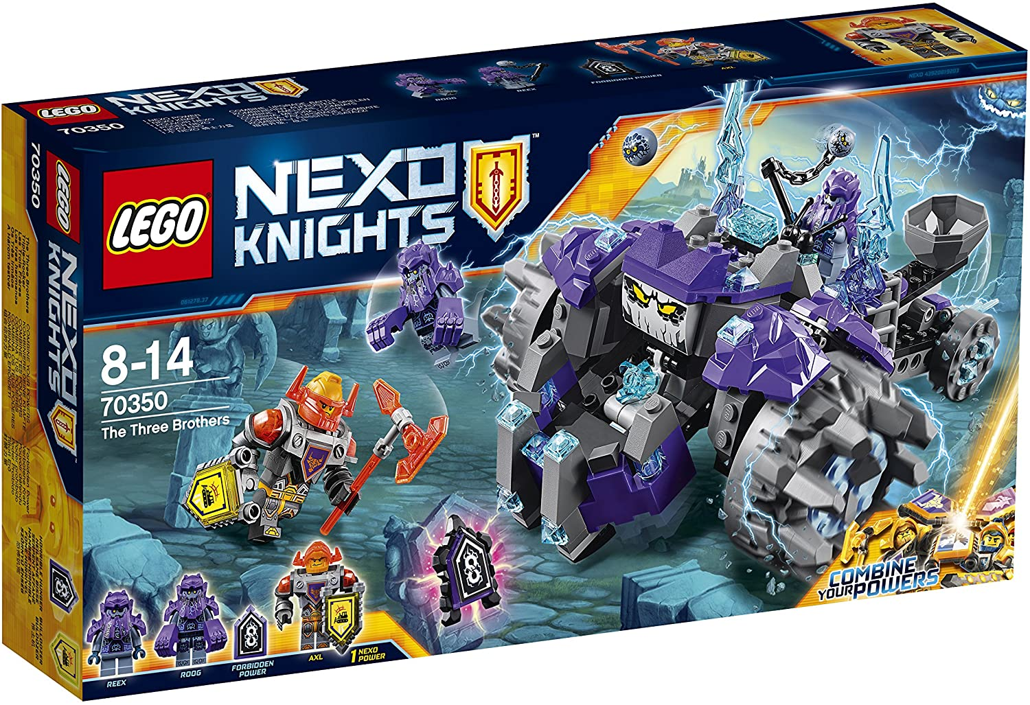 LEGO Nexo Knights 70350 - Triple-Rocker, Kinderspielzeug