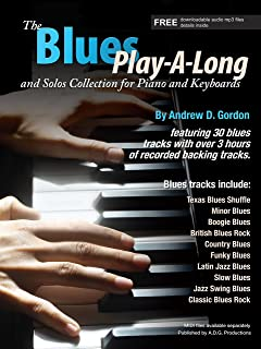 The Blues Play-A-Long and Solos Collection for Piano/Keyboar