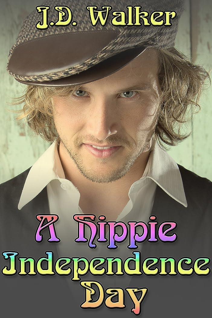 乱雑な急ぐ通り抜けるA Hippie Independence Day (English Edition)
