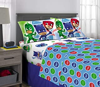 Franco Kids Bedding Super Soft Sheet Set, 4 Piece Full Size, PJ Masks