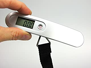 Digital Luggage Scale with LCD Display - Best for Accurate Baggage Weight During Travel - Never Have an Overweight Bag Again - Lifetime Satisfaction Guarantee