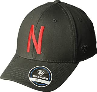 Top of the World NCAA Men's Hat Fitted Charcoal Icon