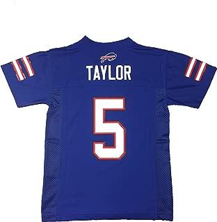 Tyrod Taylor Buffalo Bills #5 Blue NFL Toddler Home Mid Tier Jersey