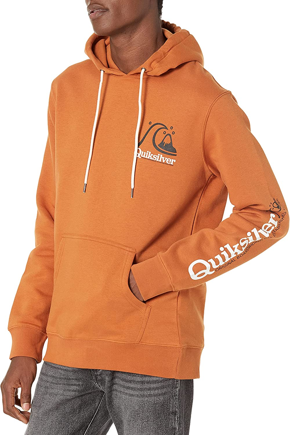 Quiksilver Men's Max 43% OFF Super-cheap First Hoodie Up