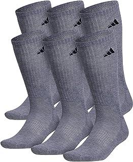 adidas mens Athletic Cushioned Crew Socks (6-pair)