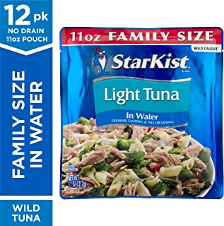 StarKist Chunk Light Tuna in Water - 11 oz Pouch (Pack of 12)