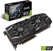 ASUS GeForce RTX 2080TI 11G GDDR6 Dual-Fan Edition VR Ready HDMI DP USB Type-C Graphics Card (DUAL-RTX2080TI-11G) (Renewed)