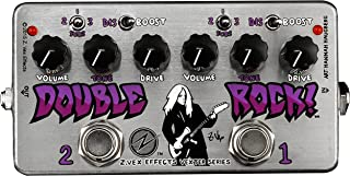 ZVEX Effects Double Rock Vexter Series Distortion Boost Guitar Pedal