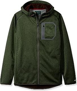 Men's Explorer Summit Creek Melange Softshell Fleece Hoodie Jacket