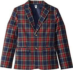 Tartan Blazer (Toddler/Little Kids/Big Kids)
