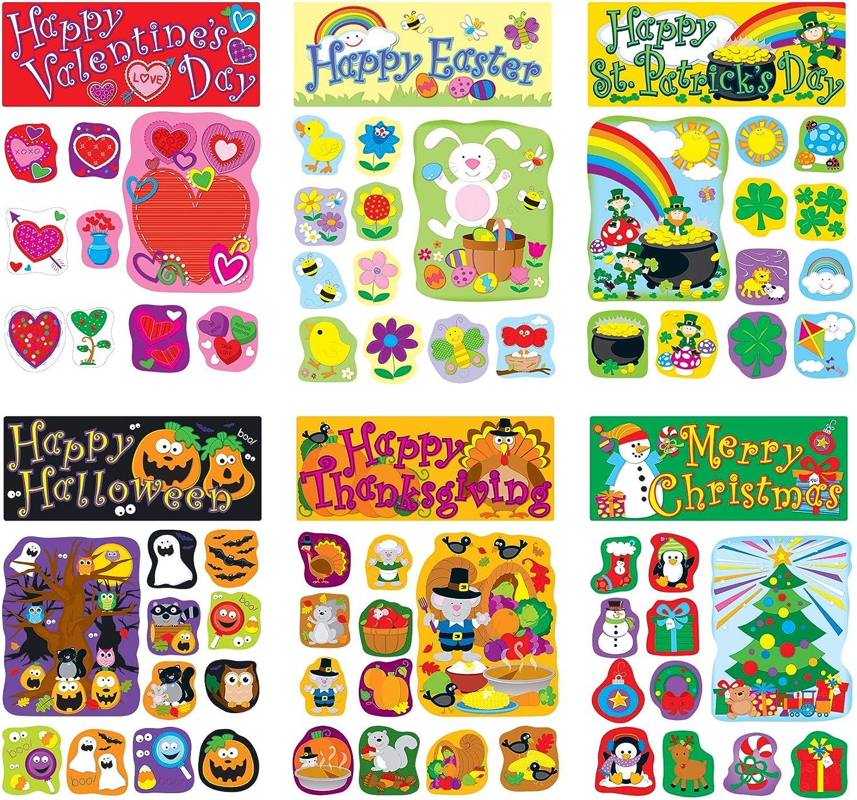 Carson Dellosa Holiday Bulletin Super-cheap Set—Christmas Board Decor Great interest