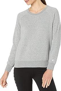 Starter womens Lightweight Crewneck Sweatshirt With Embossed Logo