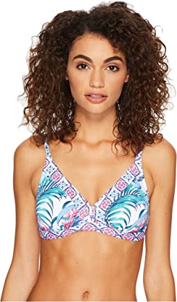 Tommy Bahama - Majorelle Over the Shoulder Banded Triangle Bra